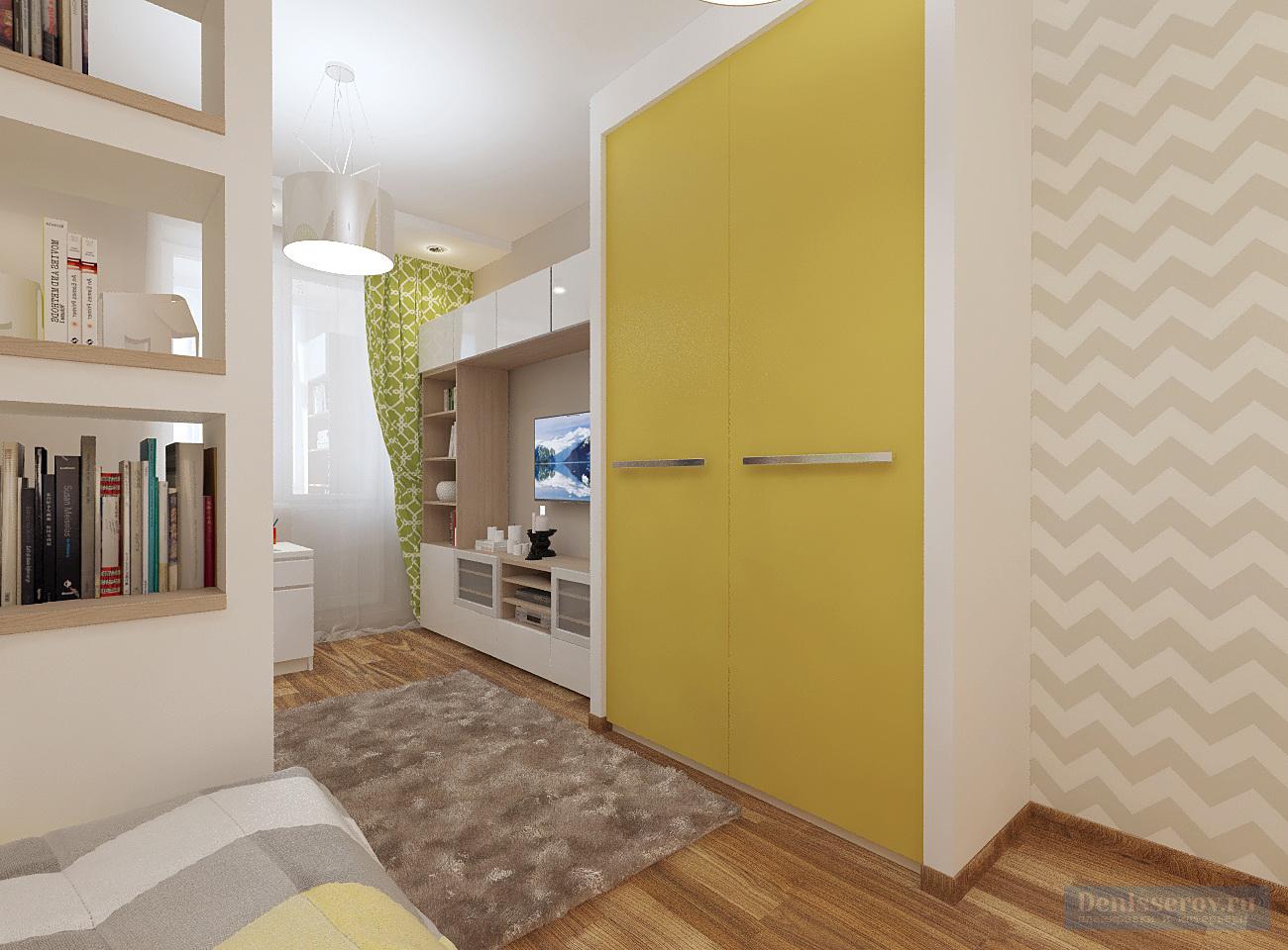 детская комната 16 кв.м. для мальчика