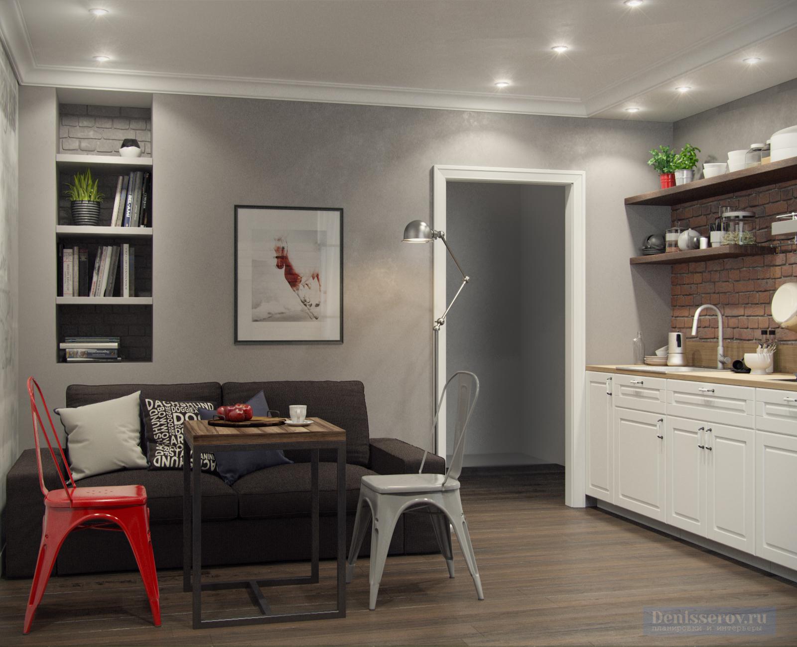 Dizajn-kvartiry-foto-studiya-kuhnya-s-gostinoj-33