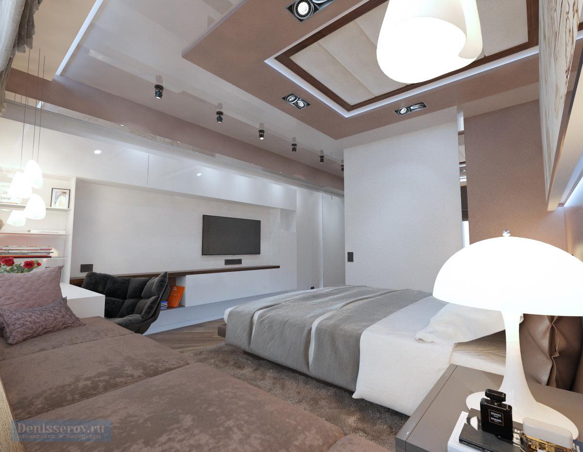 дизайн спальни 16 кв.м.