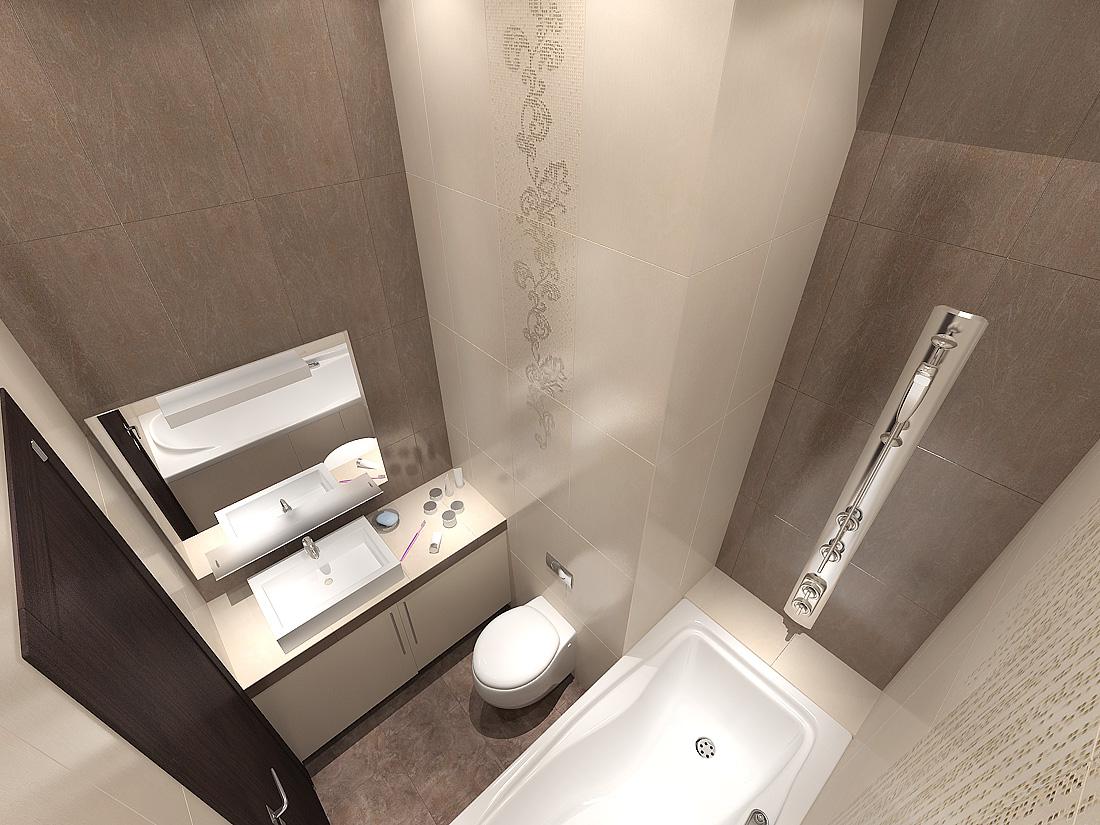 дизайн туалета 3 кв.м.