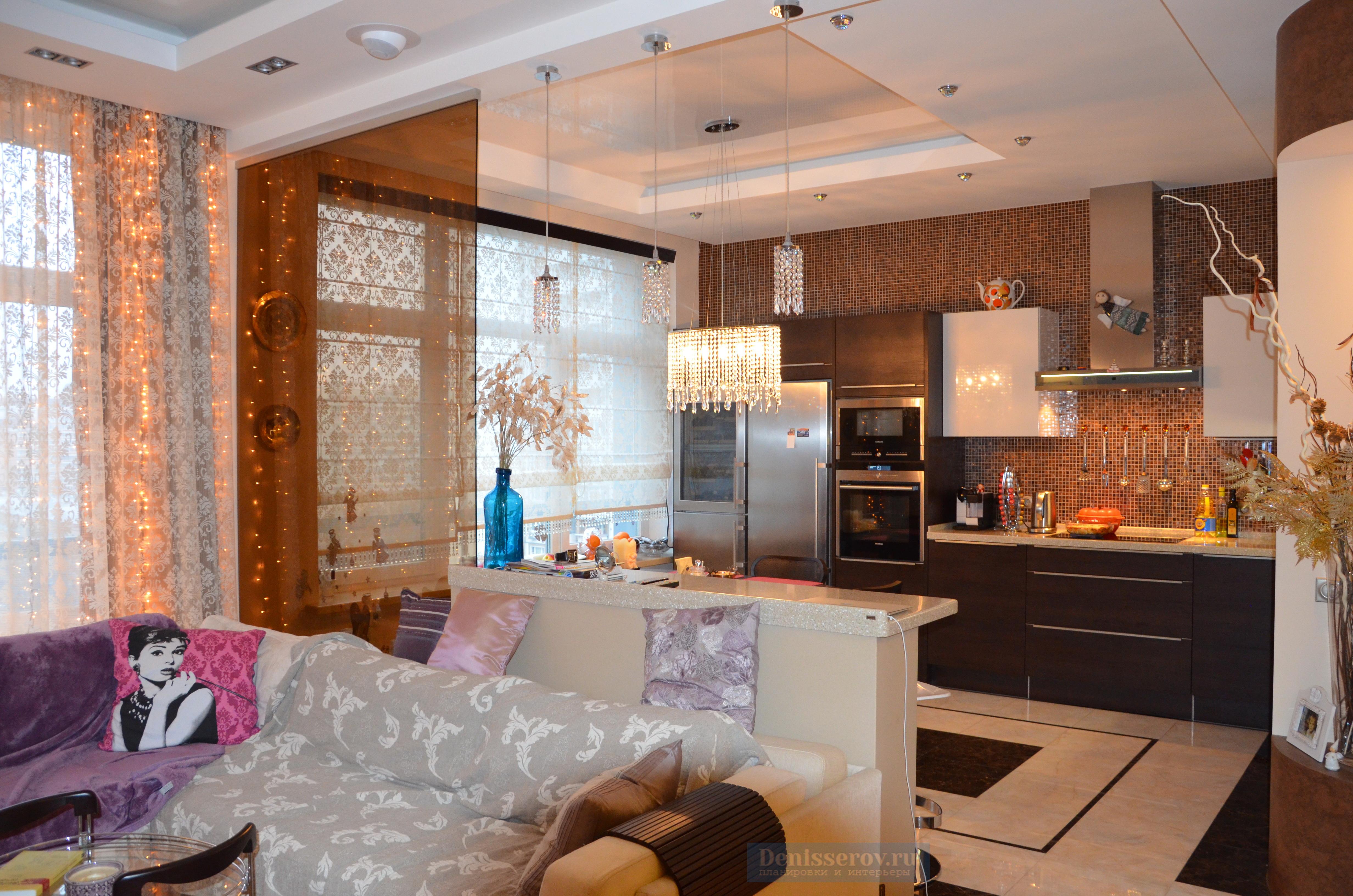 гостиная 30 кв.м. в современном стиле