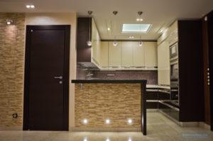 гостиная кухня квартира 140 кв.м.