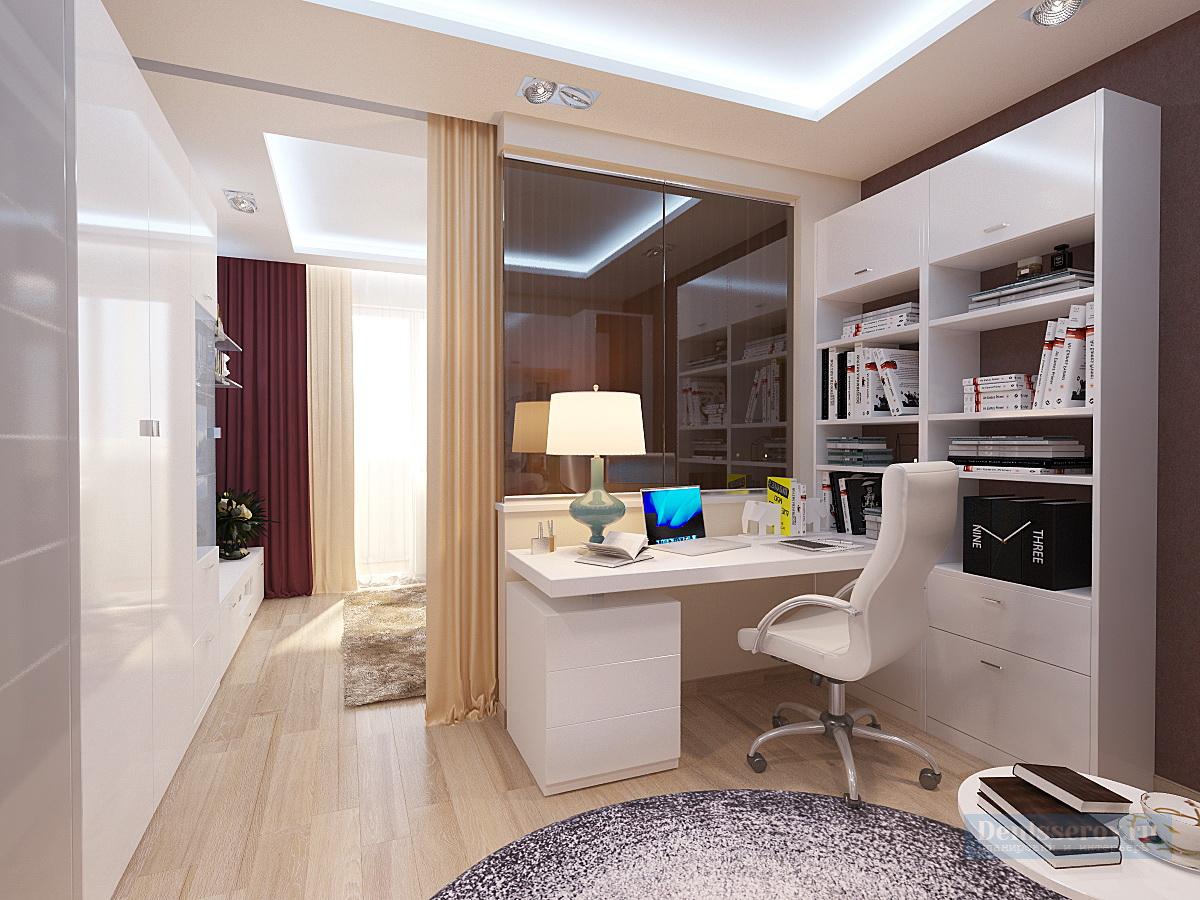 Дизайн-проект однокомнатной квартиры 44 кв.м.