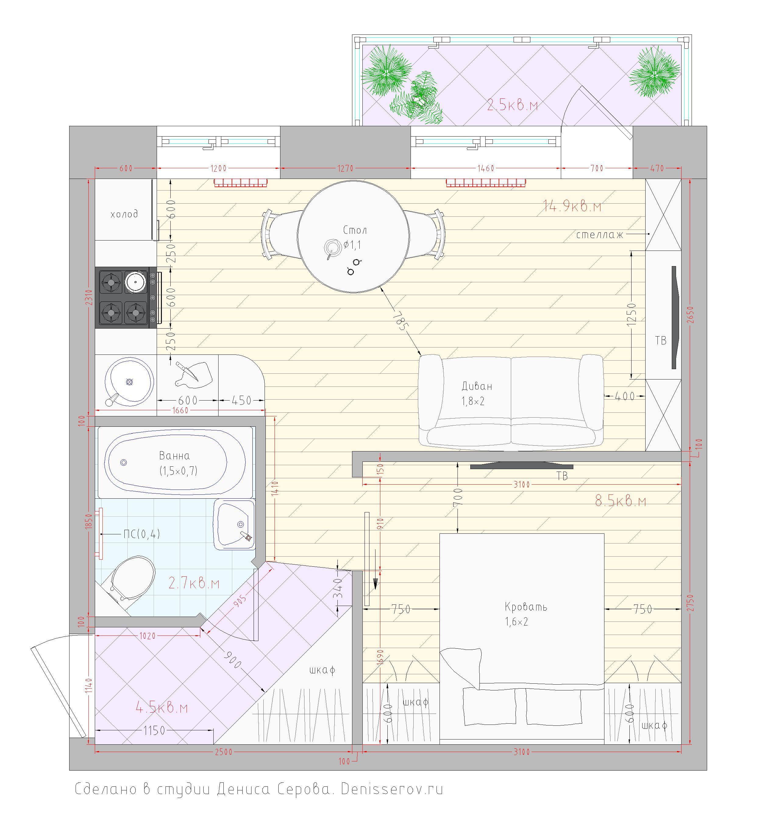 планировки хрущевок 1 комнатных квартир