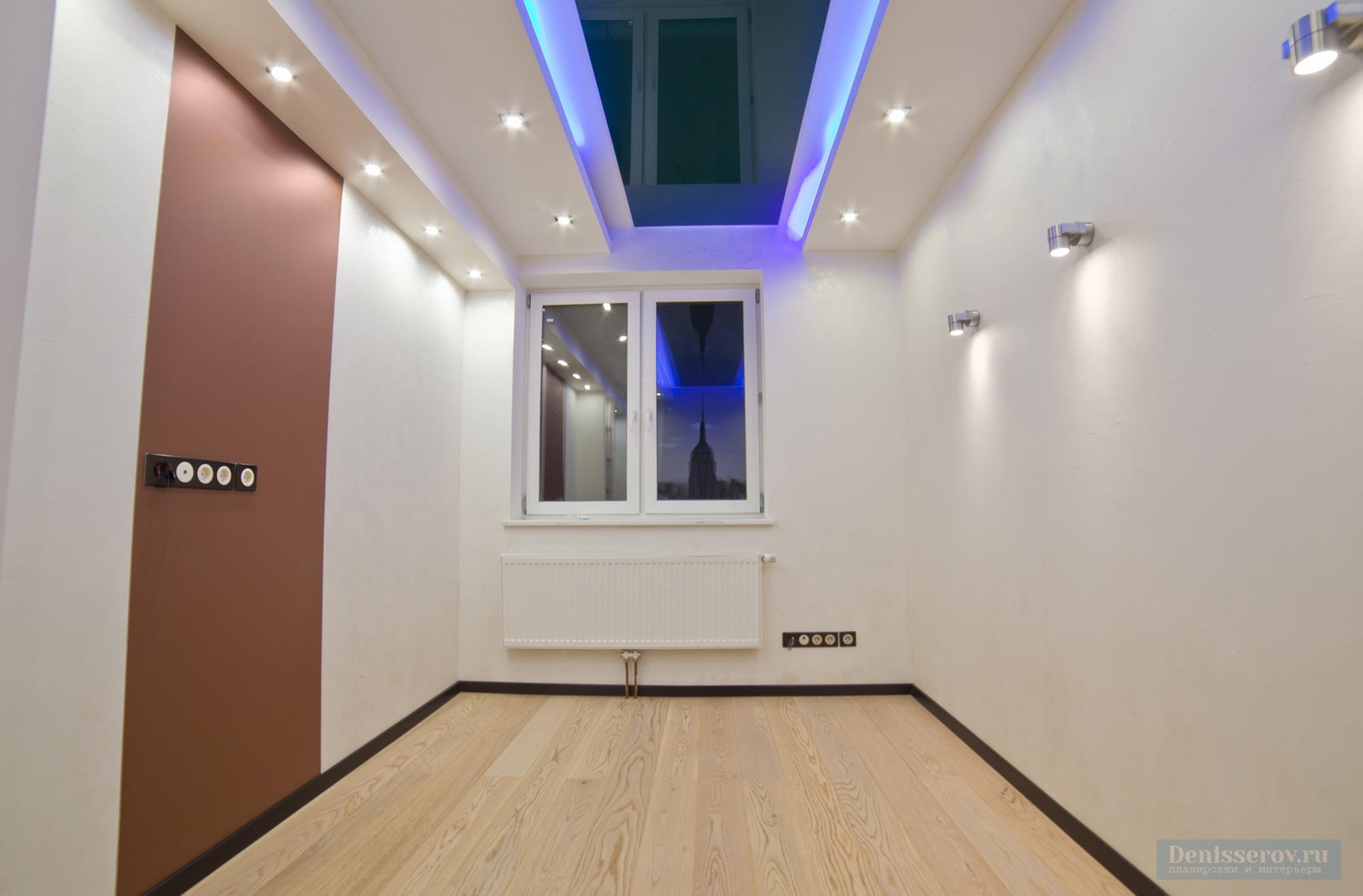 кабинет 10 кв.м. в современном стиле