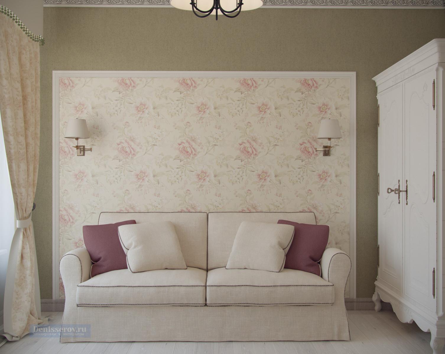 гостевая комната в стиле прованс 12 кв.м