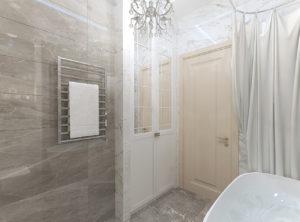 ванна в классическом стиле 6 кв.м.