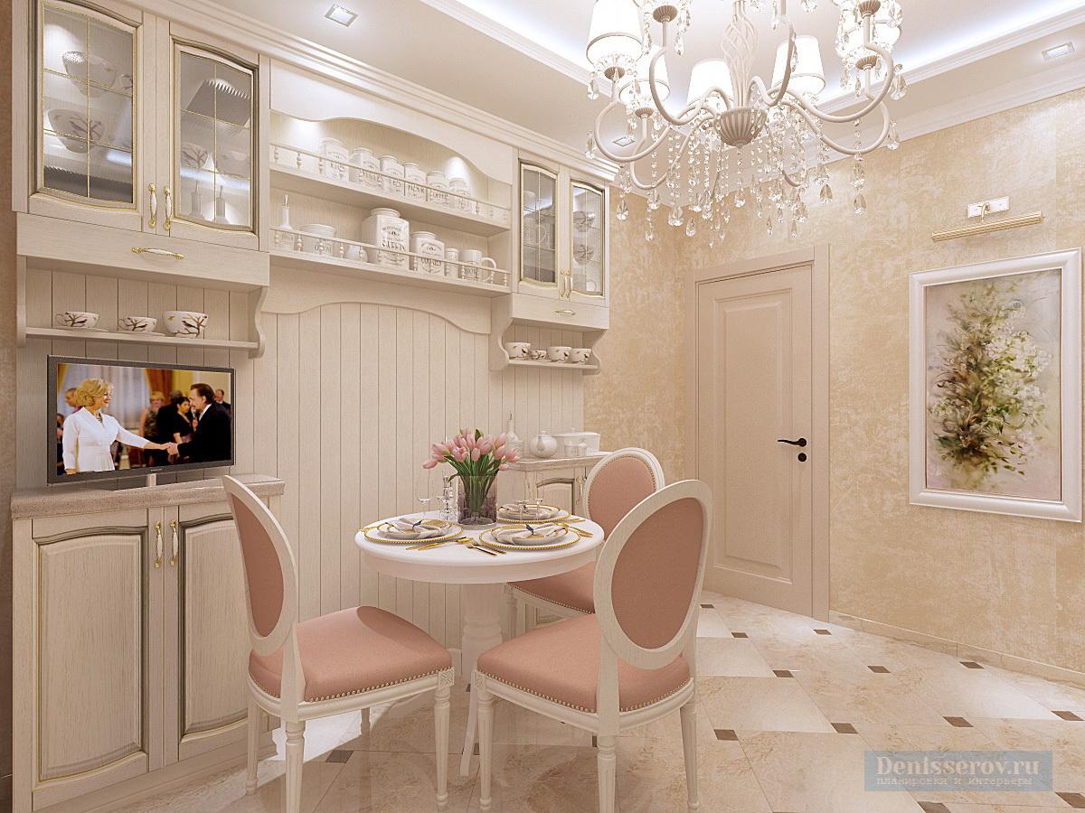 кухня в 1 комнатной квартире 45 кв.м.