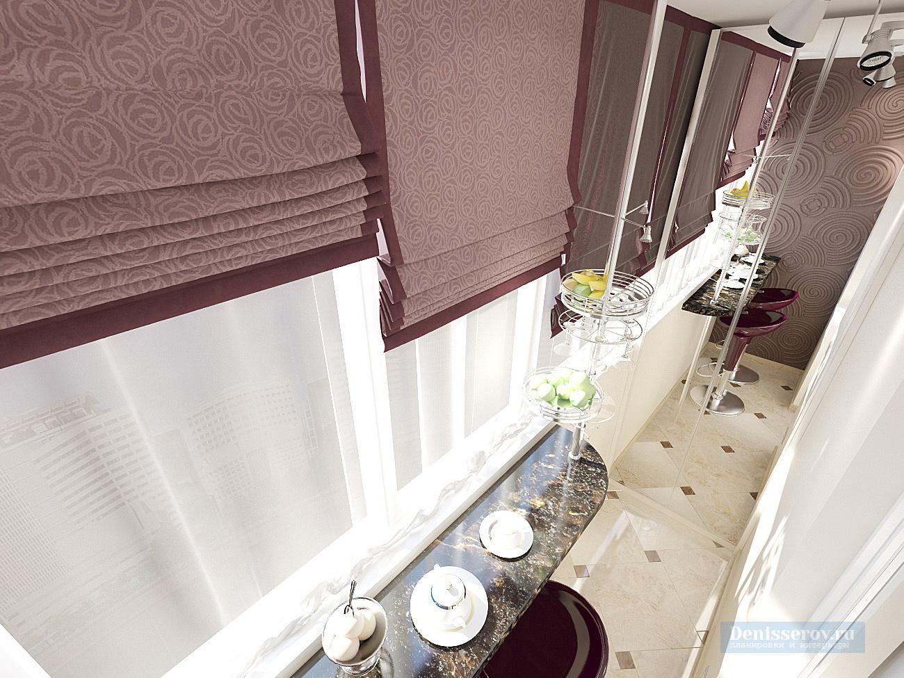 балкон кухни 10 кв.м.