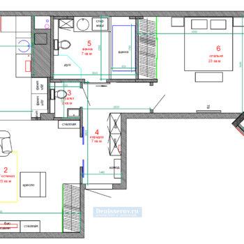 планировка-2-двух-комнатной-квартиры-80-кв-м