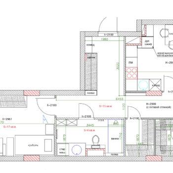 планировка-2-х-квартиры-60-кв-м
