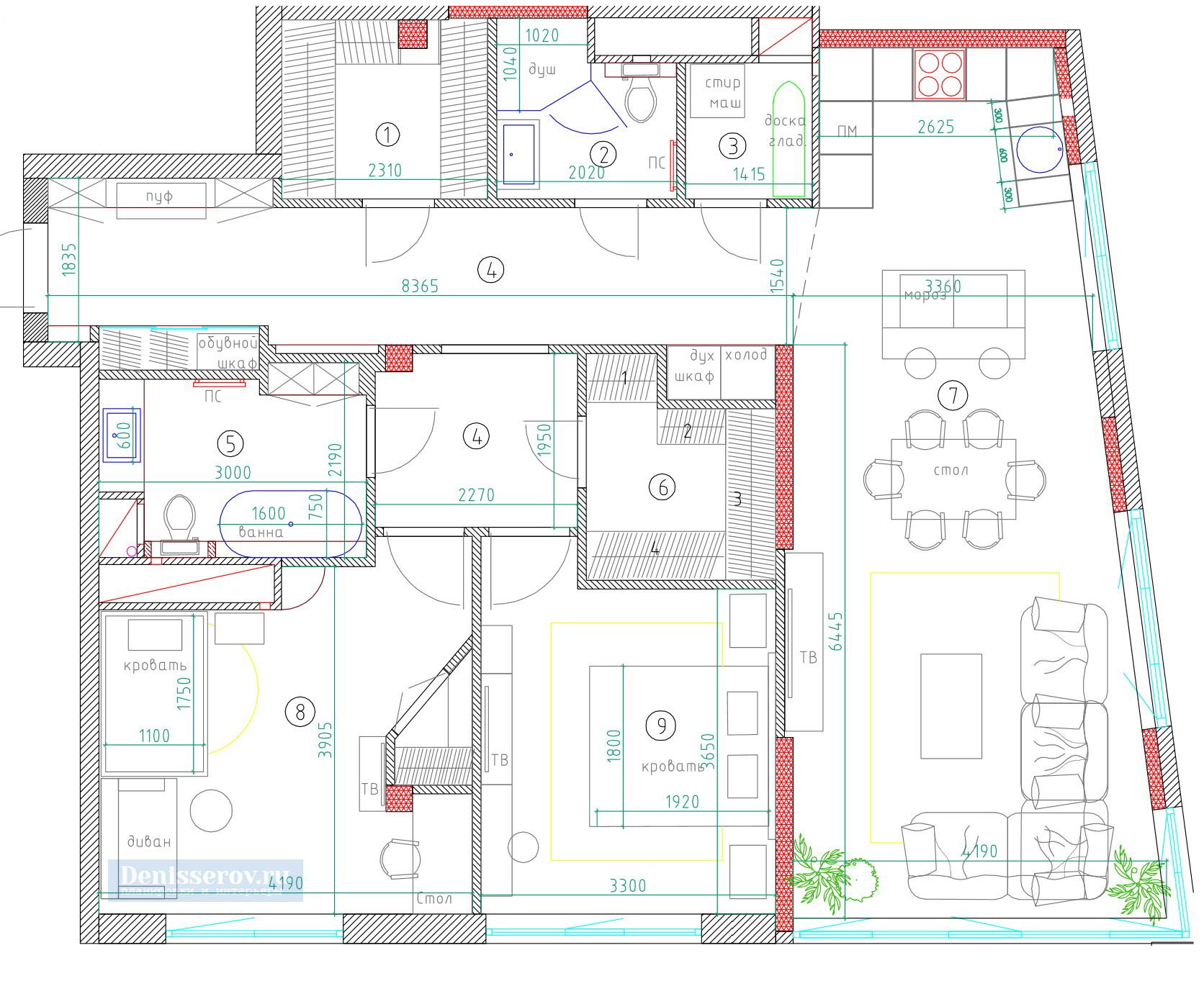 Как узаконить перепланировку квартиры самостоятельно? В