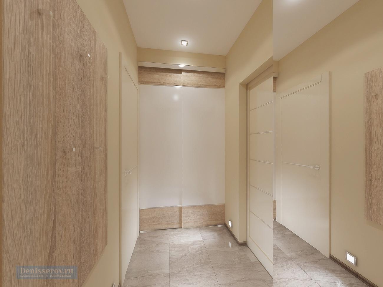 прихожая в однокомнатной квартире 35 кв.м.