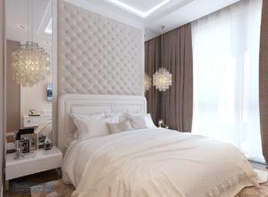 спальня в классическом стиле 12 кв.м.