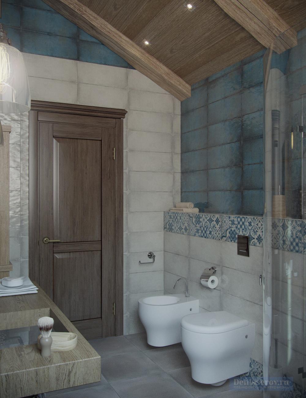 ванна 4 кв.м. в стиле лофт