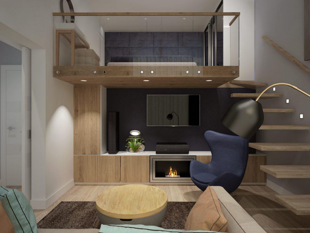 Дизайн-проект трехкомнатной квартиры 107 кв.м.