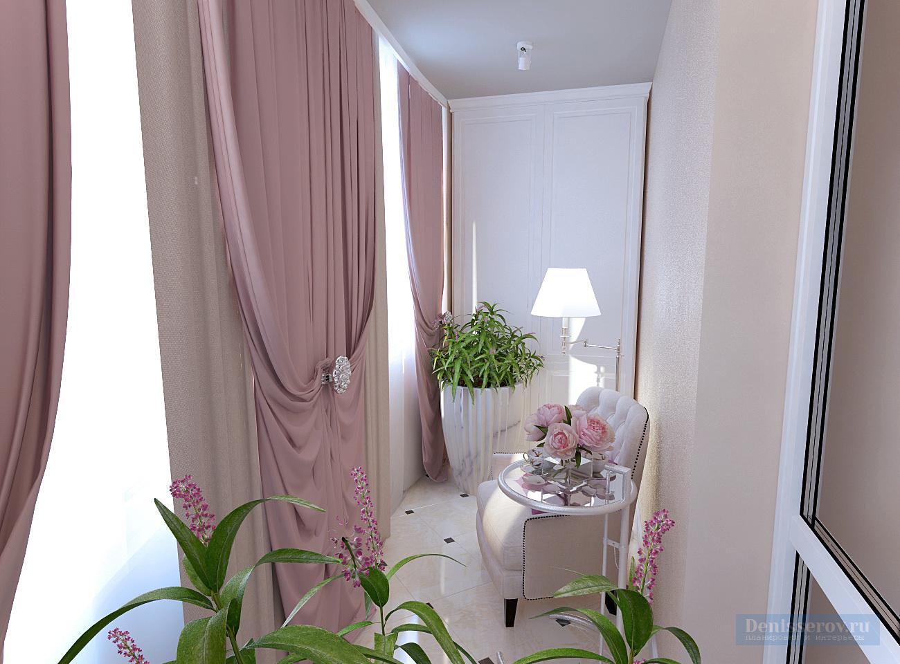 Дизайн проект трехкомнатной квартиры 100 кв.м. в классическо.