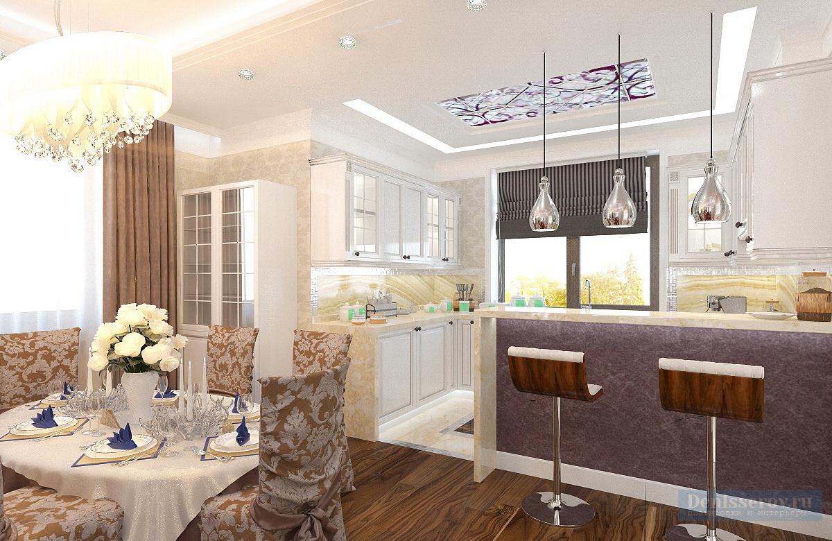кухня в классическом стиле 10 кв.м.