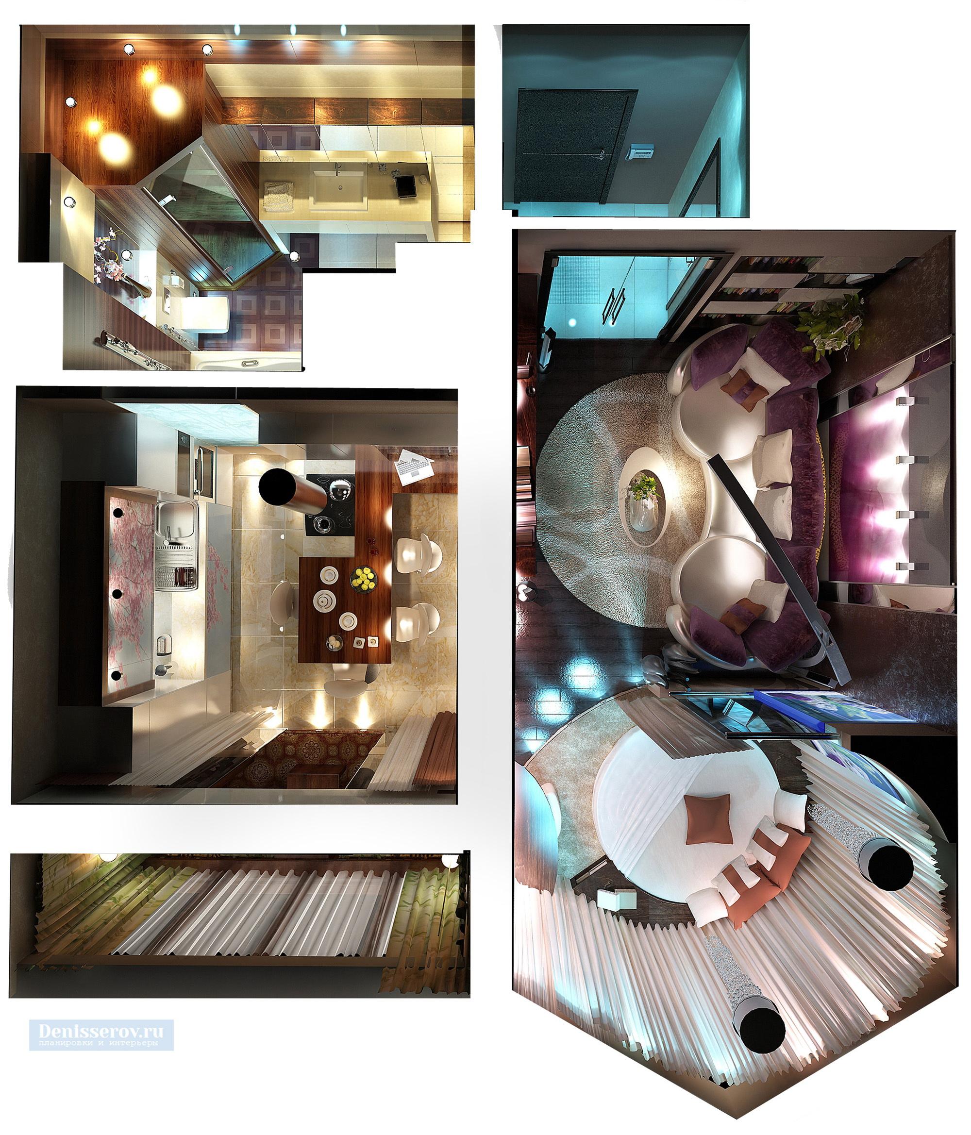 Dizajn-odnokomnatnoj-kvartiry-p-44t