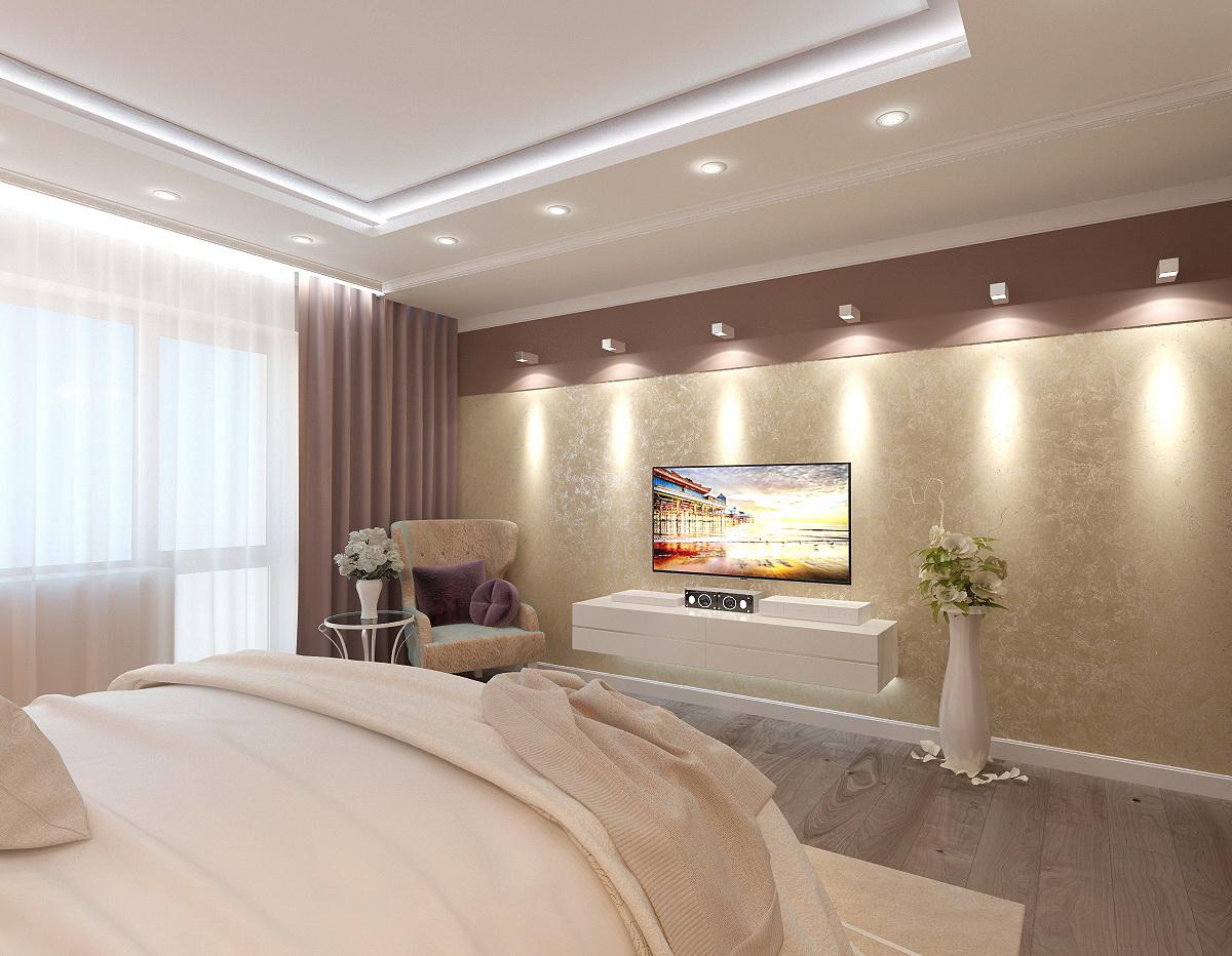 Dizajn-spalni-v-klassicheskom-stile-v-korichnevom-cvete-3