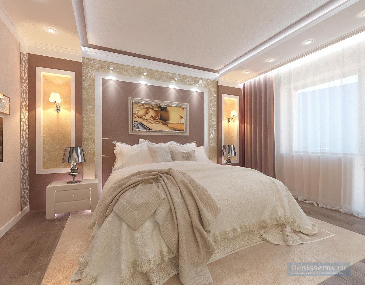 Dizajn-spalni-v-klassicheskom-stile-v-korichnevom-cvete-4