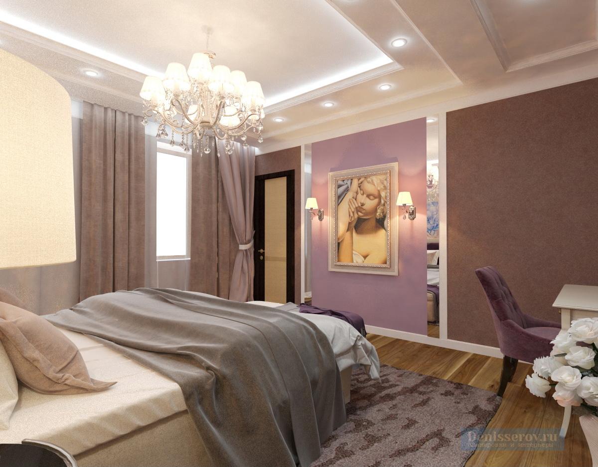 Dizajn-spalni-v-klassicheskom-stile-v-sirenevom-cvete-2