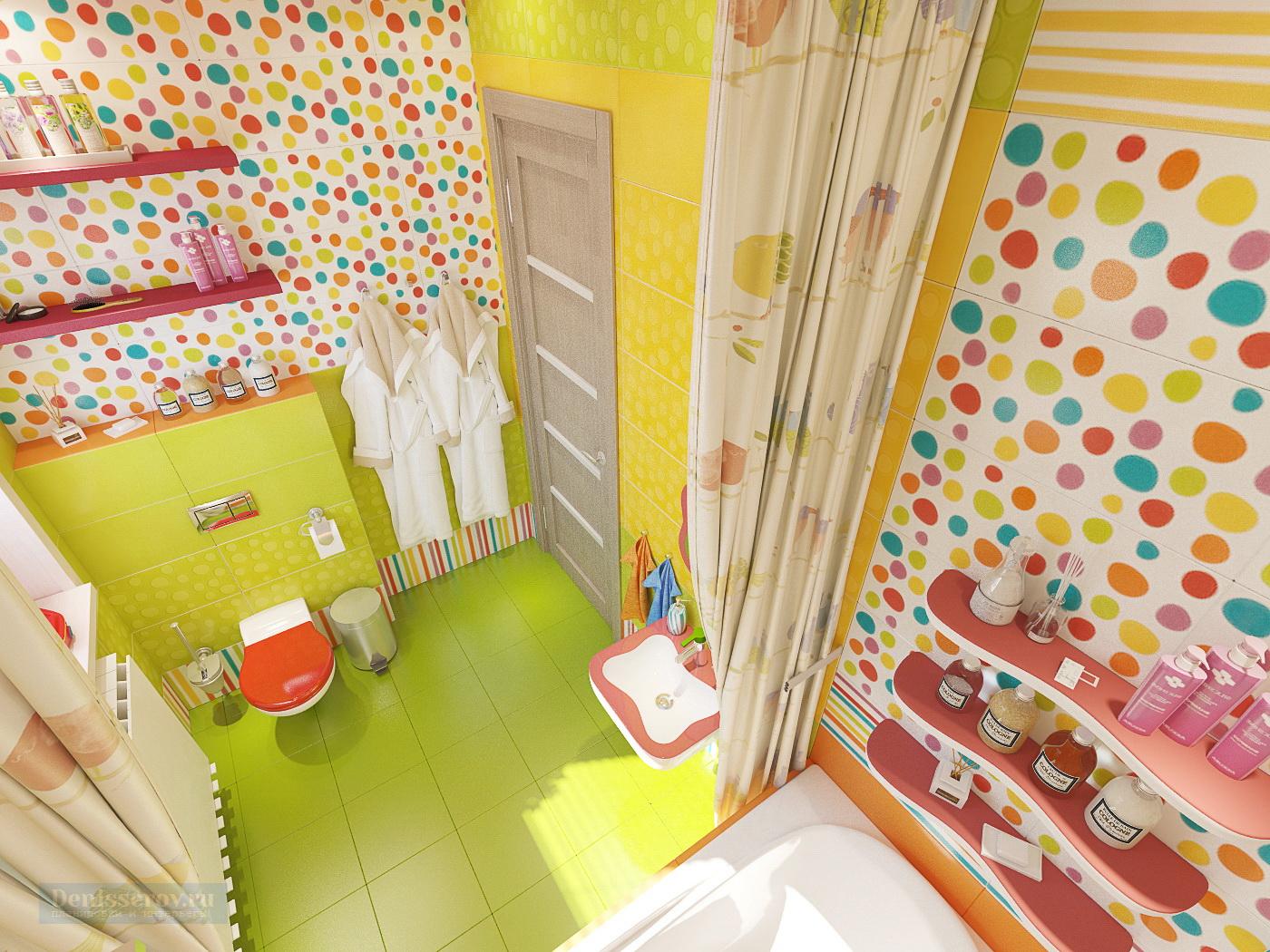 детская ванна 5 кв.м.