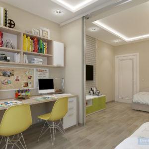 dizajn-detskoj-malchika-17-kv-m-v-zelenom-cvete-4