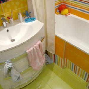 Дизайн ванной комнаты для детей 5 кв.м.