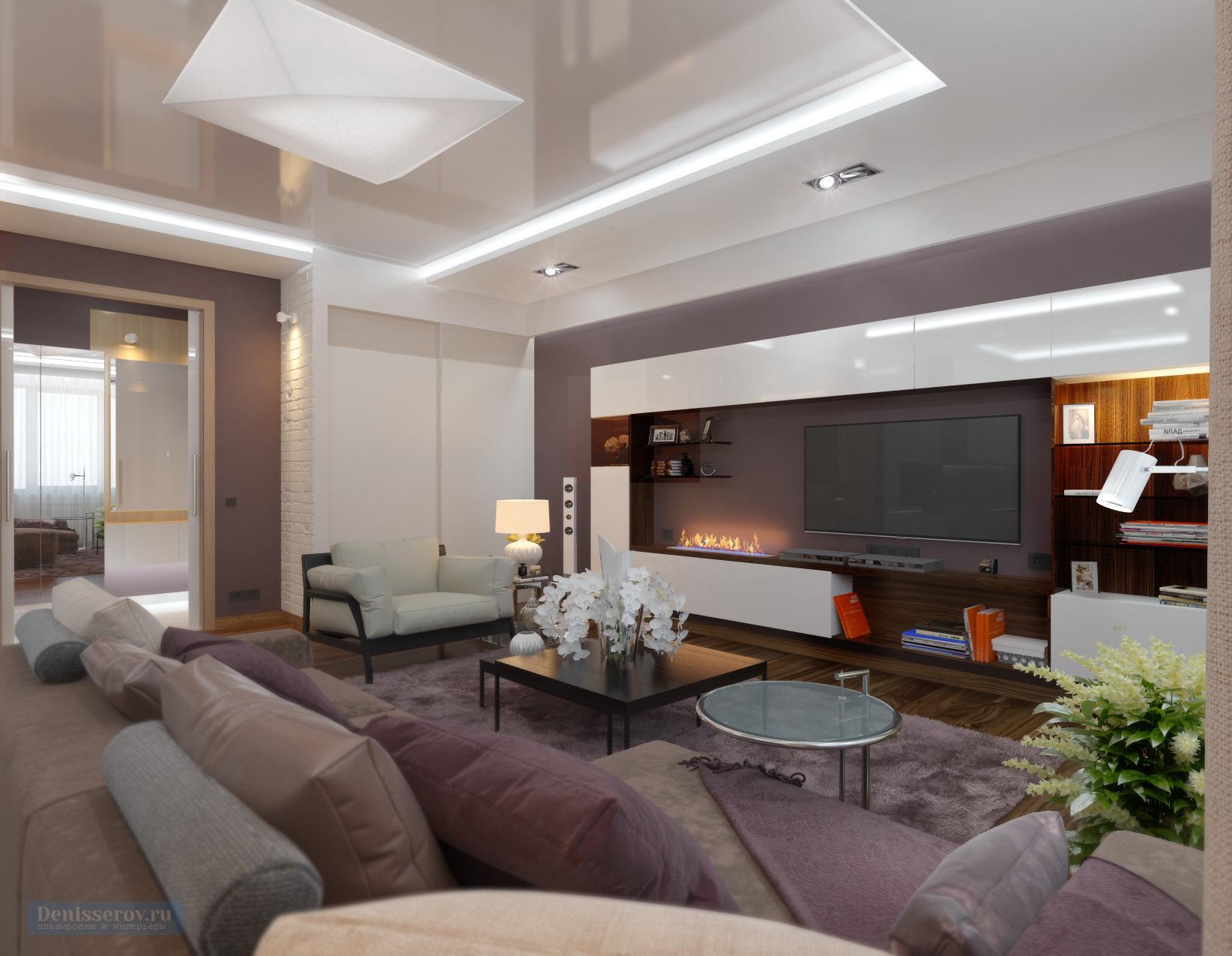 дизайн проект гостиной 25 квм в современном стиле студия дениса