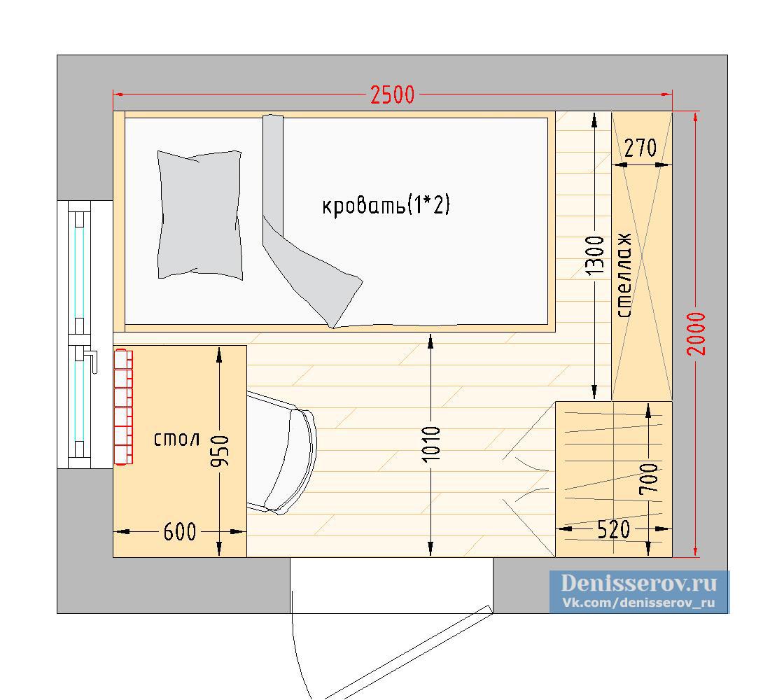 Дом дизайн мансарды детская 5