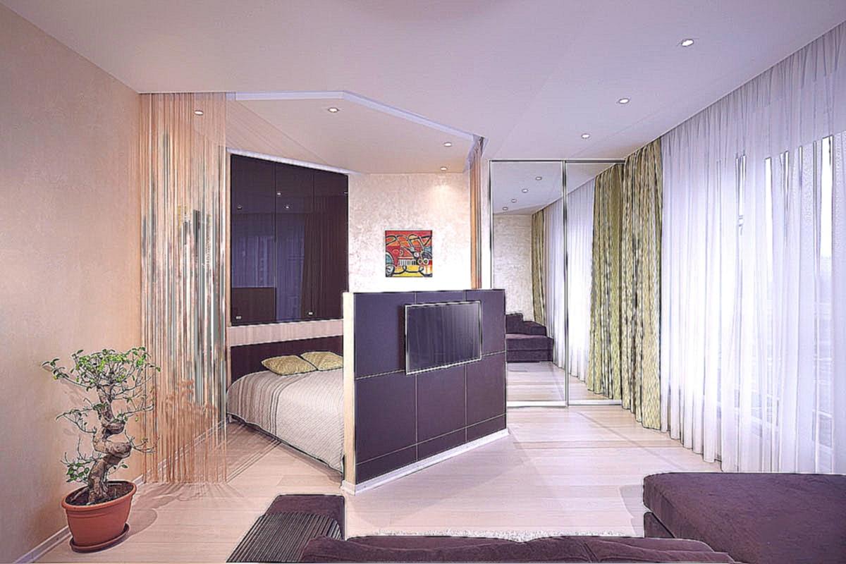 Как можно сделать гостиную спальню 792