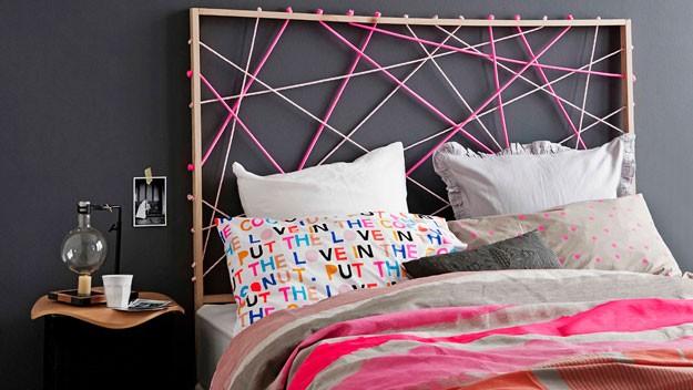 Идеи для спальни. Варианты оформления изголовья кровати.