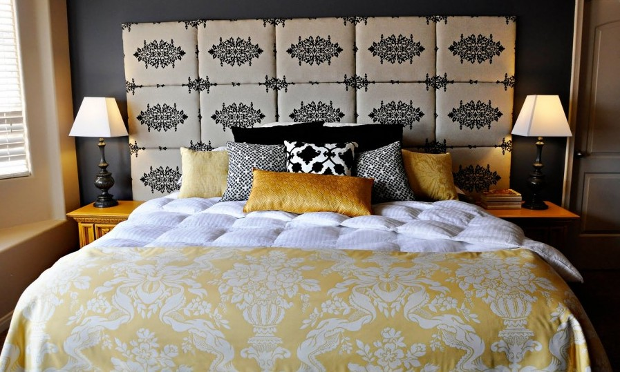 Как самим сделать изголовье кровати