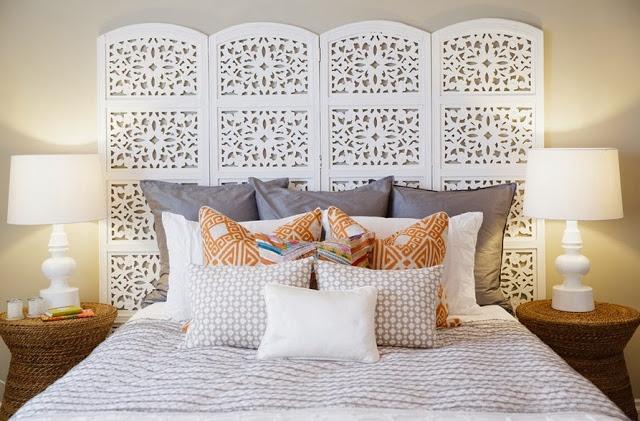 Как сделать декор кровати 47