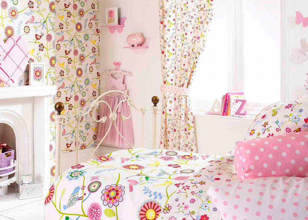 Curtains for baby girl