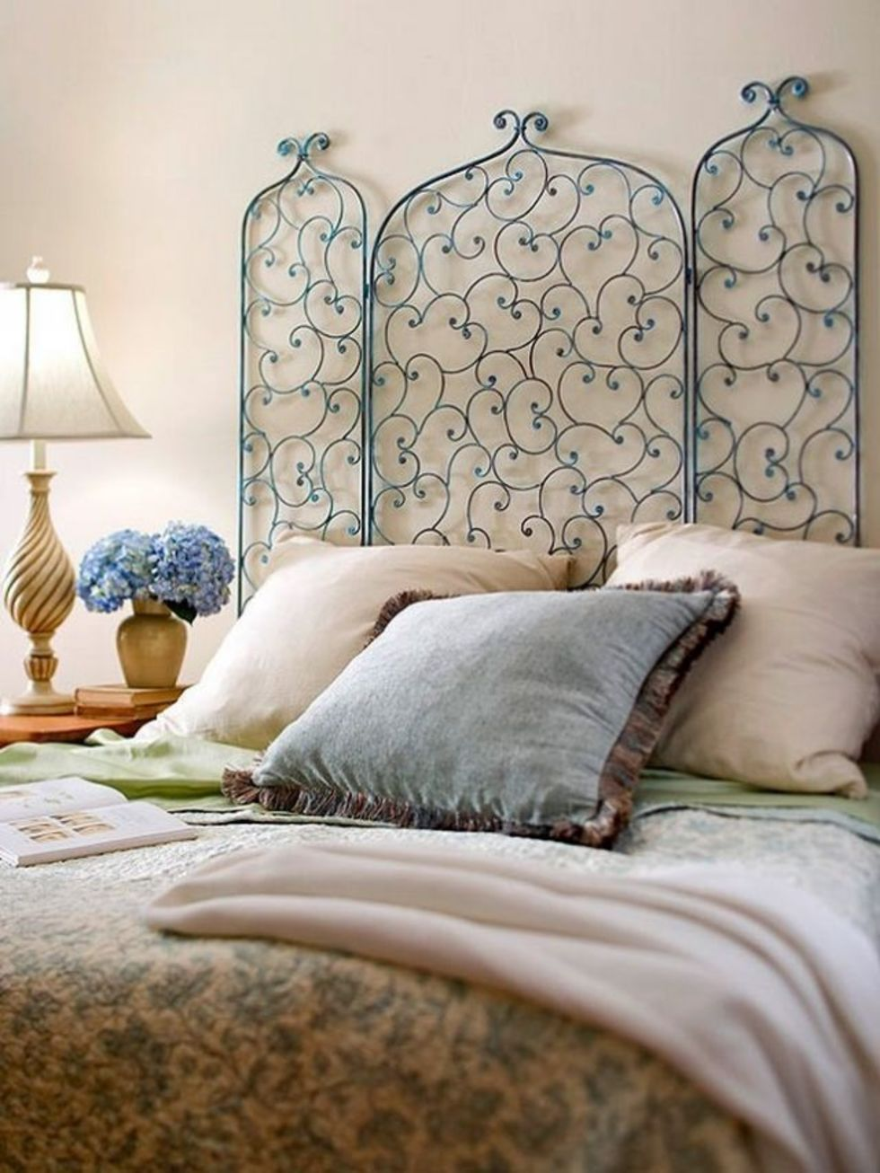 Как сделать декор кровати 26