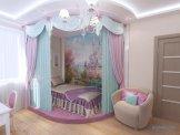 Балдахин и полог над детской кроватью различные варианты