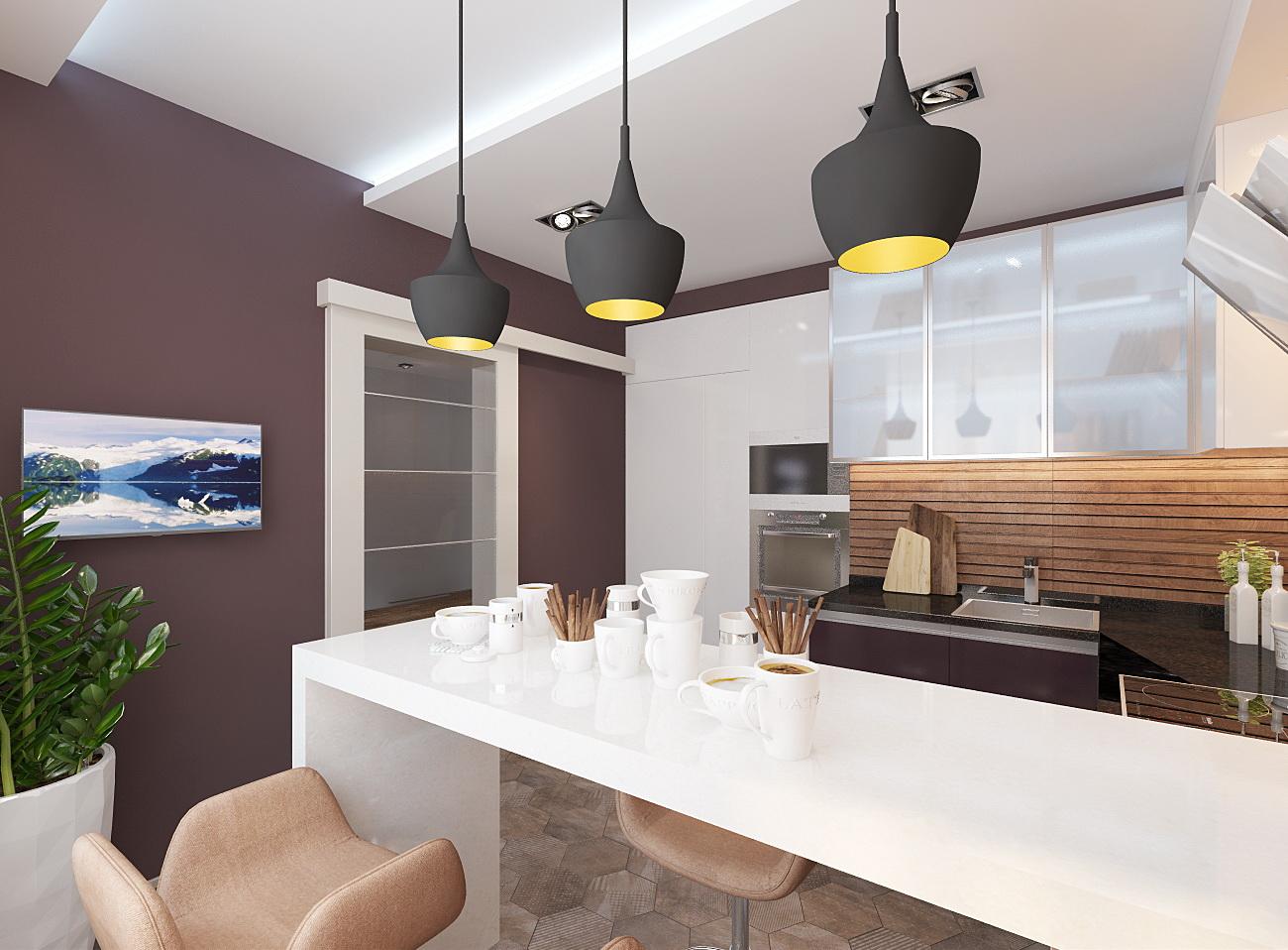 дизайн кухни 13 кв.м.