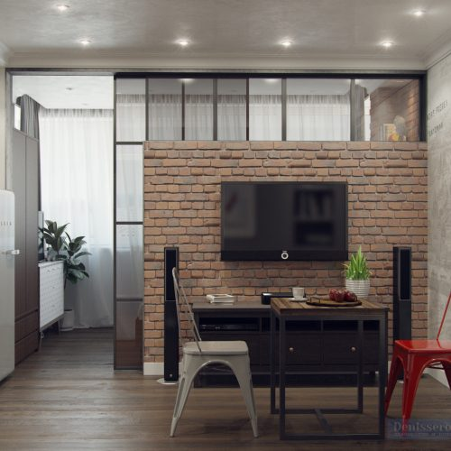 Dizajn-kvartiry-foto-studiya-kuhnya-s-gostinoj-11