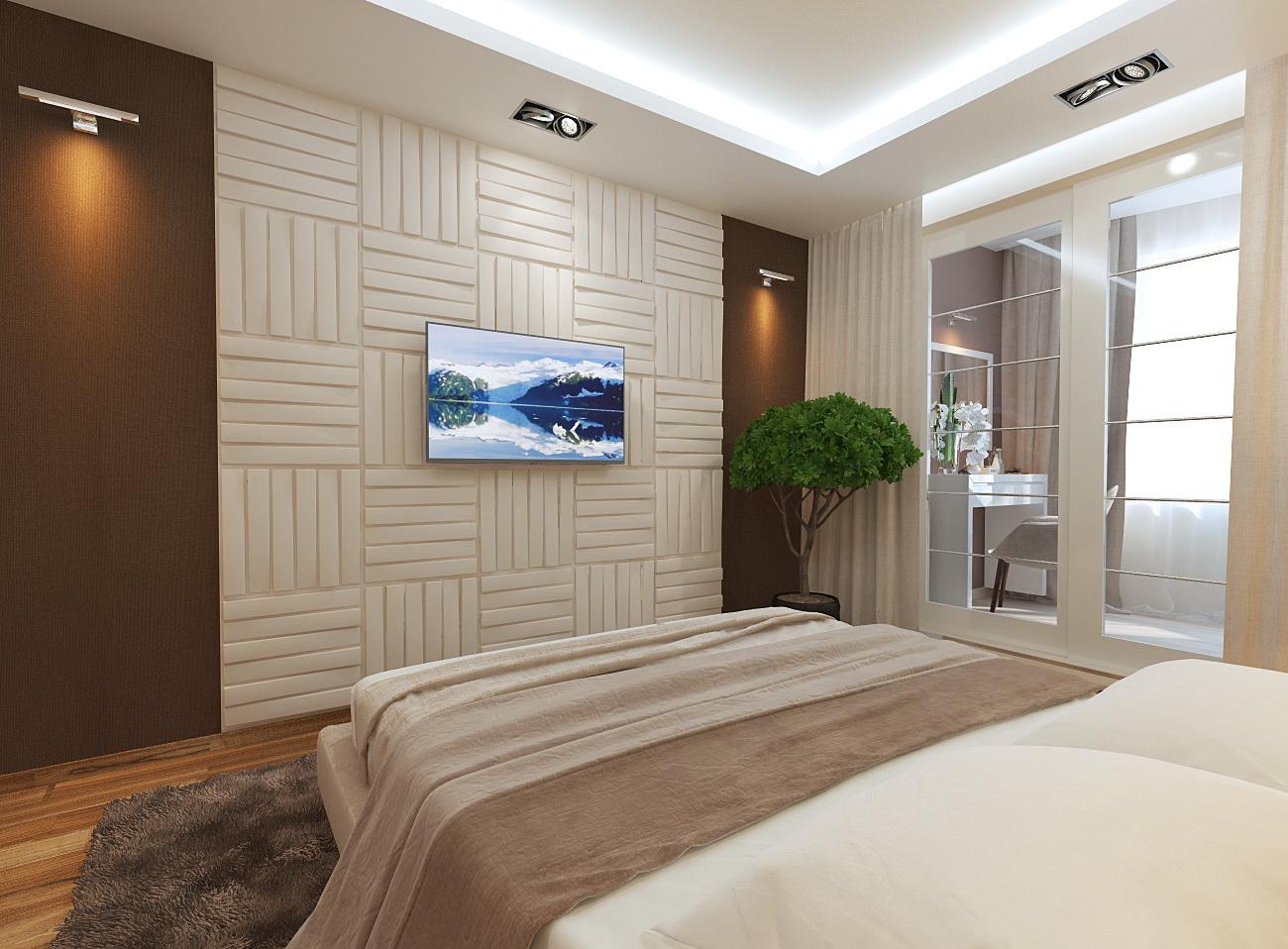 Дизайн детской спальни 14 кв.м в современном стиле