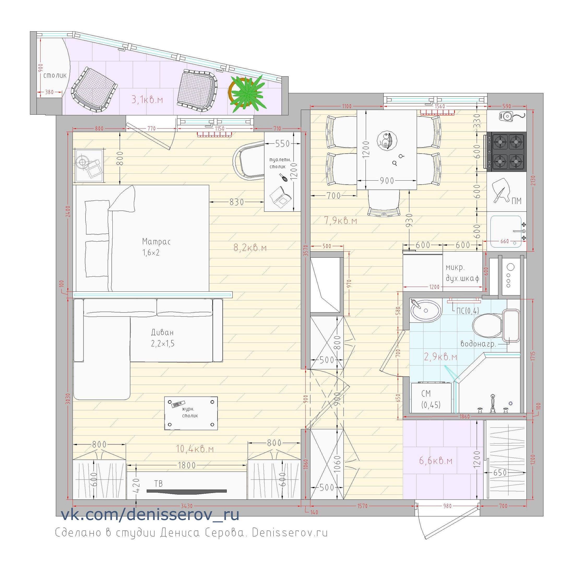 Перепланировка квартиры, особенности, сбор документов