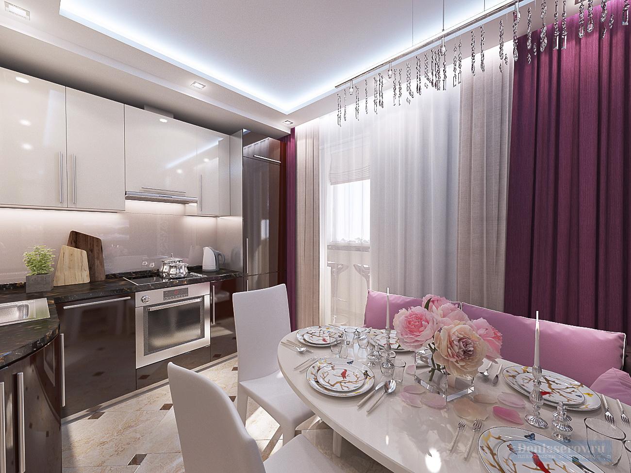 Дизайн проект кухни 9 кв.м.
