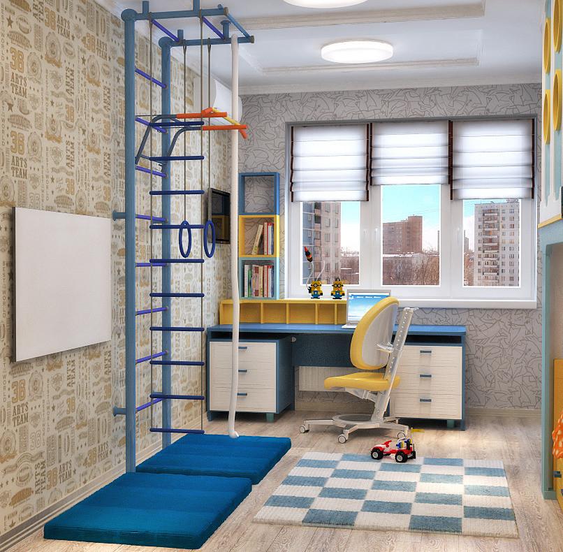Дизайн комнат спортивный