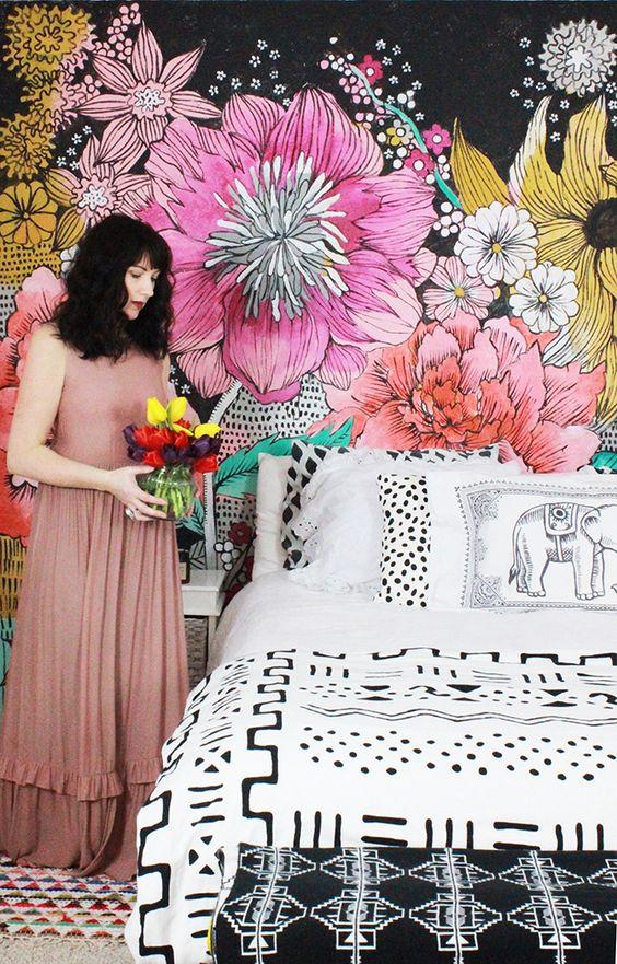 Фотообои в спальню, разные варианты и рекомендации по выбору