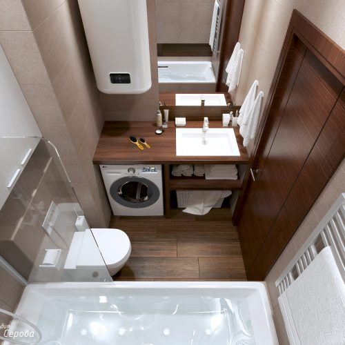 Дизайн проект двухкомнатной квартиры 65 кв.м. в Москве