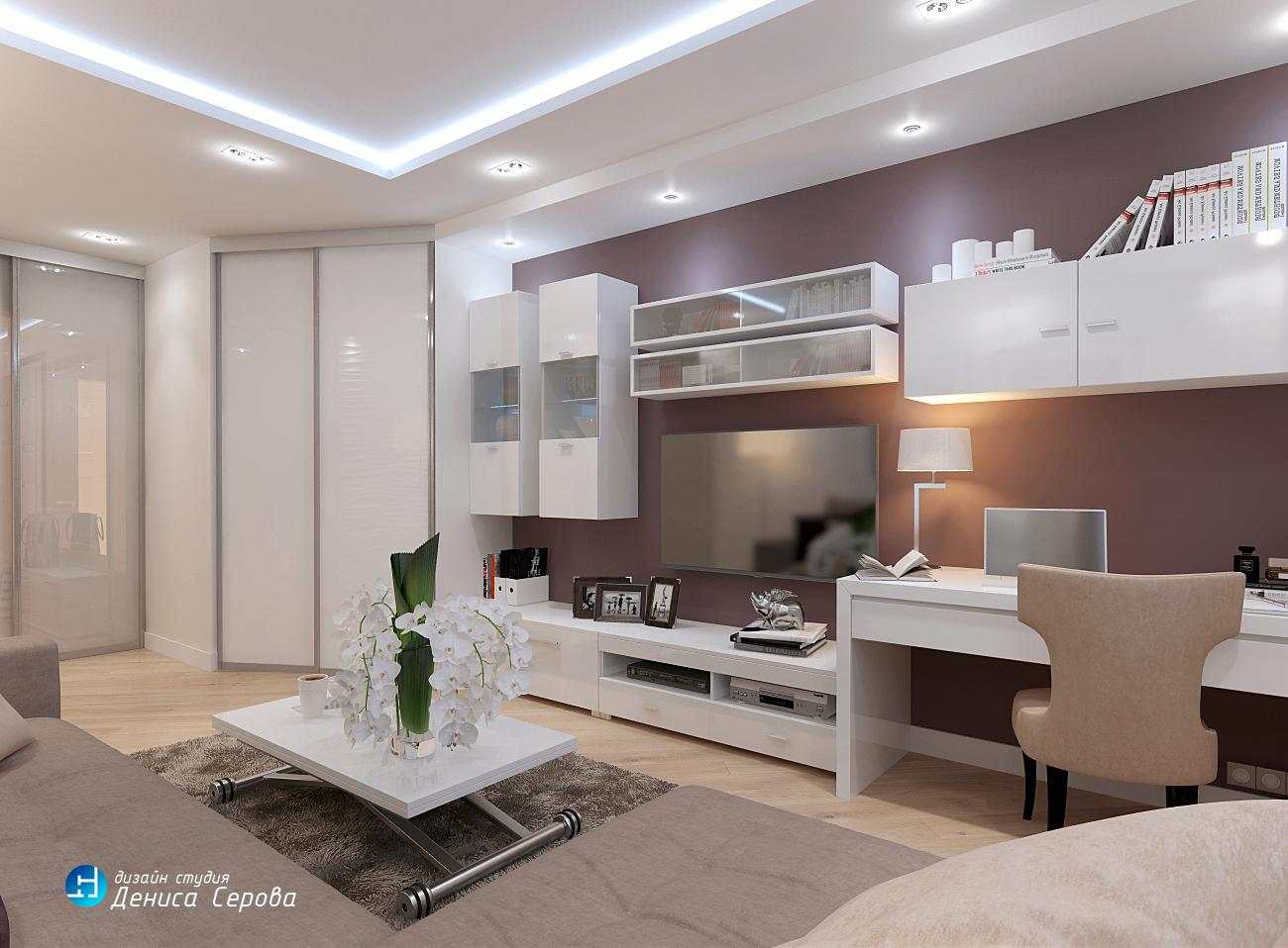 Дизайн-проект интерьера 3-х комнатной квартиры площадью 75 кв.м. для семьи с ребенком