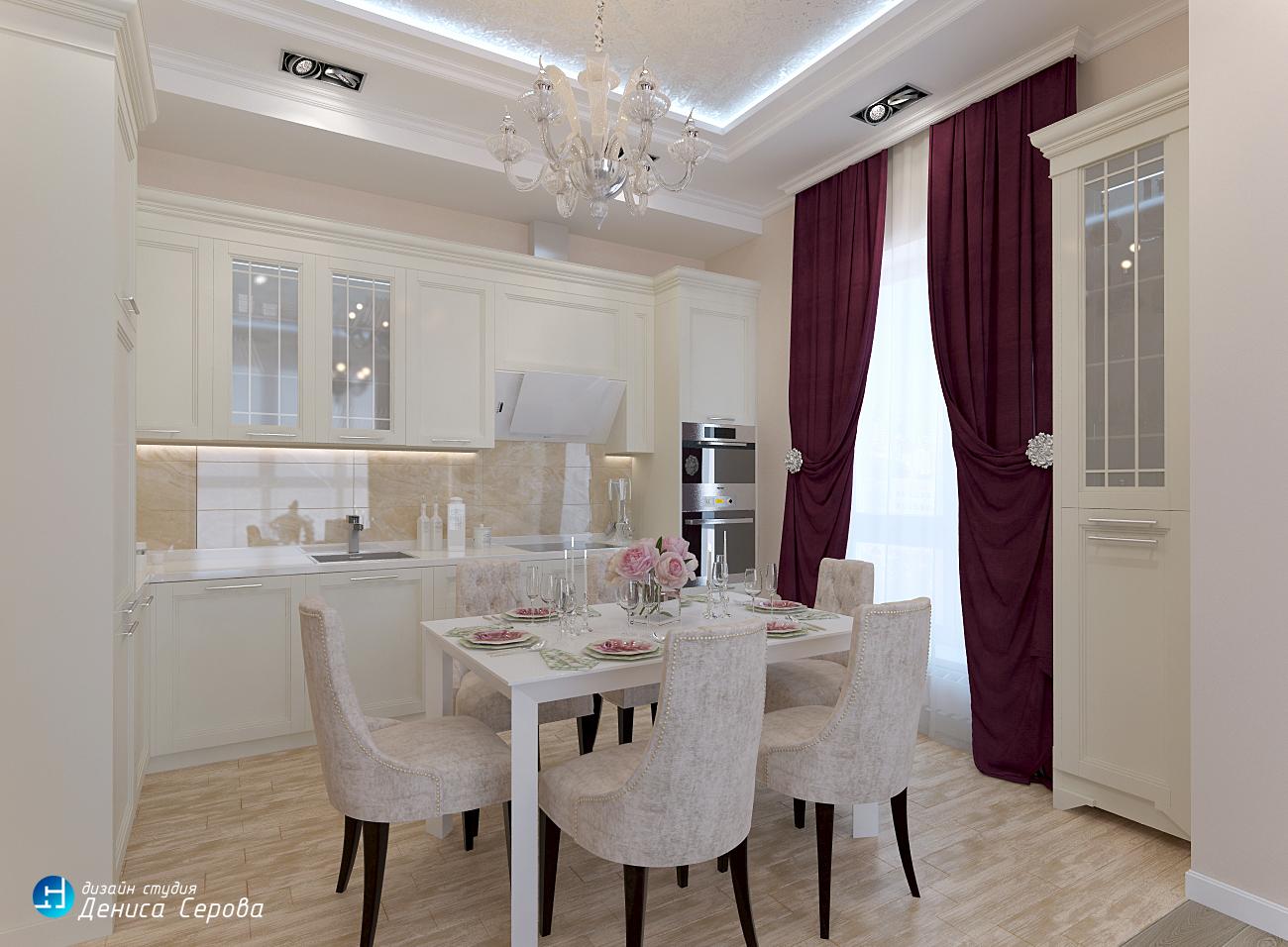 Дизайн — проект 4-х комнатной квартиры 100 кв.м. в Нижнем Новгороде