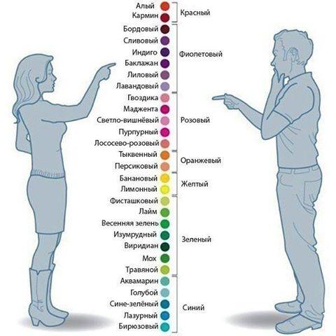 Поговорим о цветах и их названиях