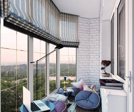 Про балконы с панорамным остеклением. Плюсы и минусы.